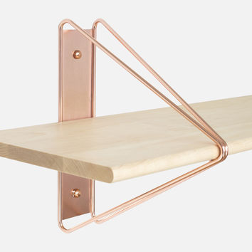 Strut Shelving System - Copper