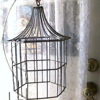 Antique Wrought Iron Furniture Shabby Chic Prim by 3vintagehearts