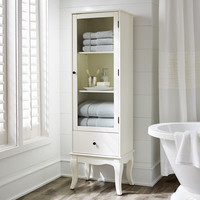 Toscana Tall Snow White Cabinet