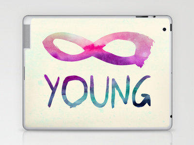Forever Young Laptop & iPad Skin by Jacqueline Maldonado | Society6