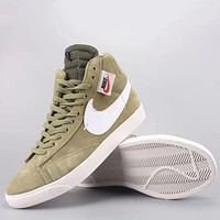 Trendsetter Wmns Nike Blazer Mid Rebel Fashion Casual  High-Top Old Skool Shoes