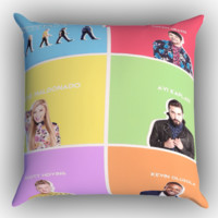 pentatonix 2015 X0506 Zippered Pillows  Covers 16x16, 18x18, 20x20 Inches