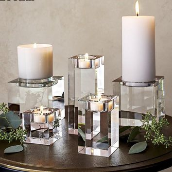 Crystal Religious Decorative Candle Holders
