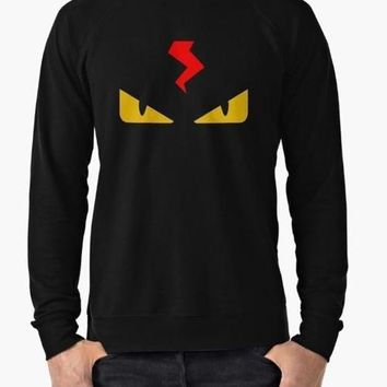 Fendi monster eye black Sweat Shirt