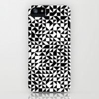 TRIANGLES iPhone & iPod Case by THE USUAL DESIGNERS
