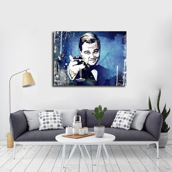 Cheers The Great Gatsby Canvas Wall Art Motivational Wall Decor