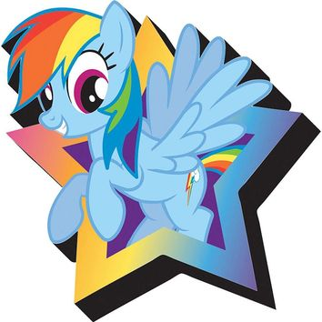 My Little Pony Rainbow Dash Funky Magnet, More Toys by NMR Calendars