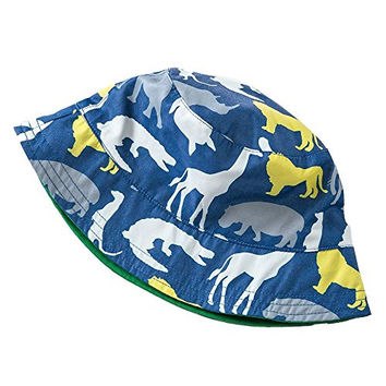 Toubaby Toddler Boy Sun Hats Kid Boy Bucket Hats Dinosaur Hat 0-6t (1-2years old)