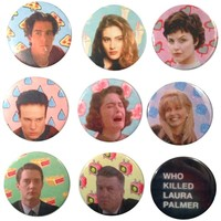 The Pulp Girls — TWIN PEAKS BUTTONS II