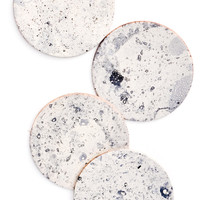 Moon Leather Coasters