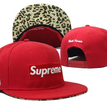 Supreme Cap Snapback Hat - Ready Stock