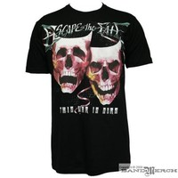 Escape The Fate - Smile Now Cry Later Mens T-shirt in Black