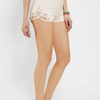 Dress The Population Nia Lace Inset Short
