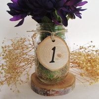 Rustic Table Number, Wedding Table Numbers, Event Decor, Holiday Dinner, Rustic Wedding, Business Party
