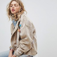 Maison Scotch Oversized Army Jacket With Safari Pockets at asos.com