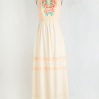 Boho Long Sleeveless Maxi Whispers of Romance Dress
