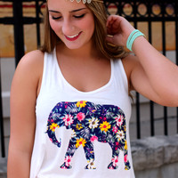 Floral Safari Crop Top