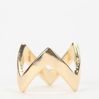 Zigzag Stackable Ring