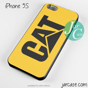 yellow caterpillar logo Phone case for iPhone 4/4s/5/5c/5s/6/6 plus