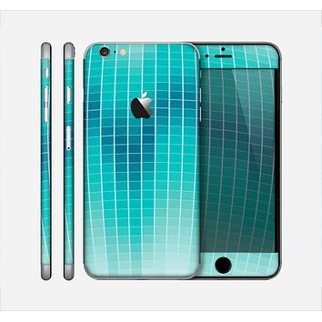 The Teal Disco Ball Skin for the Apple iPhone 6 Plus