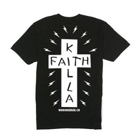 Faith Killa Pocket tee - Black