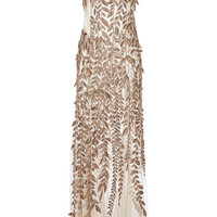 Embroidered Tulle Gown | Moda Operandi