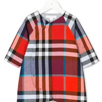 Burberry Kids Checked Shorties - Farfetch