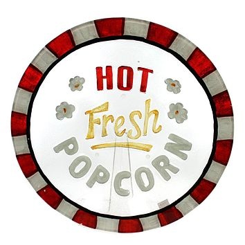 Tabletop Hot Fresh Popcorn Bowl Tabletop