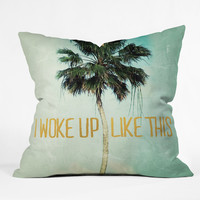 Chelsea Victoria I Woke Up Like This No 3 Outdoor Throw Pillow