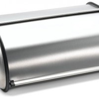 Prime Pacific Stainless Steel Bread Box, Brushed