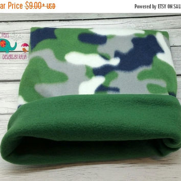 On Sale 15% Off Fleece cozy cup, snuggle sack, bed, tube, guinea pig, hedgehog, ferret, rat, reversible, pattern, small animal bed, pet bag