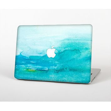 The Grungy Blue Watercolor Surface Skin for the Apple MacBook Air 13""