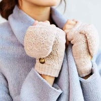 Plush-Lined Convertible Glove-