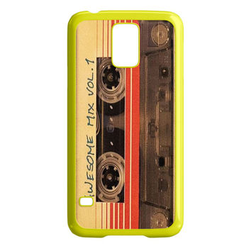 vintage AWESOME MIXTAPE Samsung Galaxy S5 Case