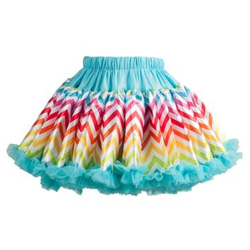 Chic by Tutu Couture Girls Print Satin Pettiskirt