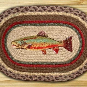 Trout Printed Placemat