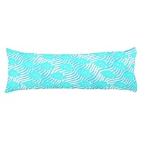Tropical fishes body pillow