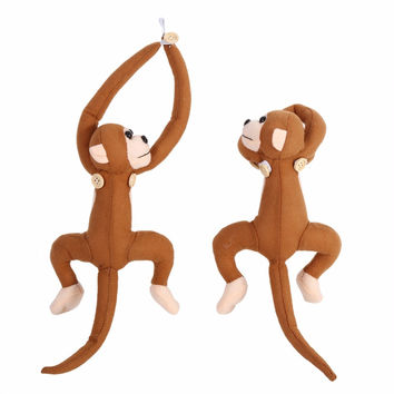 1 pair Kids Monkey Shape Window curtain Clasps Holders Curtain Buckle Tieback Belt Hook furniture for bedroom Home Decor