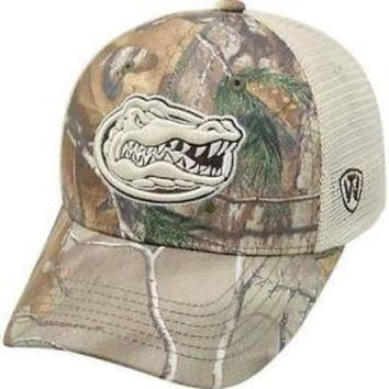 ONETOW NCAA Florida  Gators Top Of The World REALTREE Trucker Hat