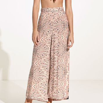 Paisley trousers with border - Best Sellers - NEW IN | Oysho