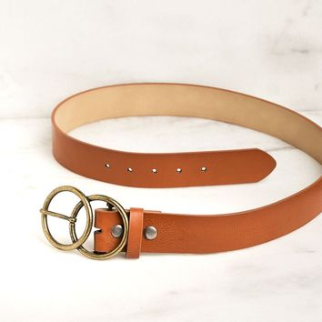 Open Road Tan Belt