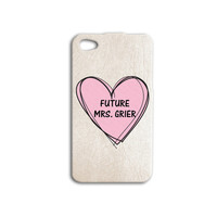 Super Cute Future Mrs Nash Grier iPhone 5s Case Cute iPhone 4 Case Pink iPod 5 Case Sweet iPod 4 Case Cool iPhone 4s Case Hot iPhone 5c Case