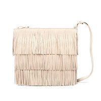 PASTEL FRINGED CLUTCH