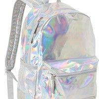 Old Navy Girls Iridescent Backpacks Size One Size - Iridescent