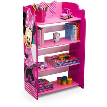Kids 4 Shelf Character Bookcase,Storage,Toy Organizer