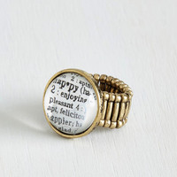 Scholastic Definition of Delight Ring by ModCloth