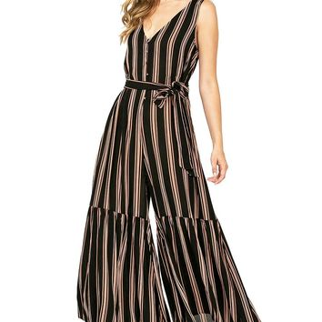 Paragon Stripe Jumpsuit