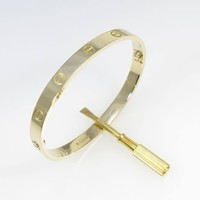 Authentic Cartier Love bracelet #260-002-247-9372