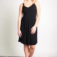 Piko 1988 V-Neck Thin Strap Dress