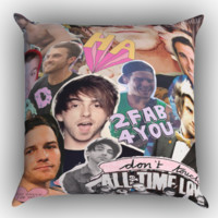 All Time Low college personil Zippered Pillows  Covers 16x16, 18x18, 20x20 Inches